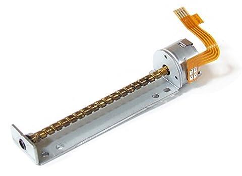 Electromyne Schrittmotor Spindelmotor Linearmotor Stepper Shaft Spindle Stepping Motor 72mm (Generalüberholt)