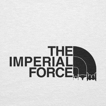 TEXLAB - The Imperial Force - Herren T-Shirt Weiß
