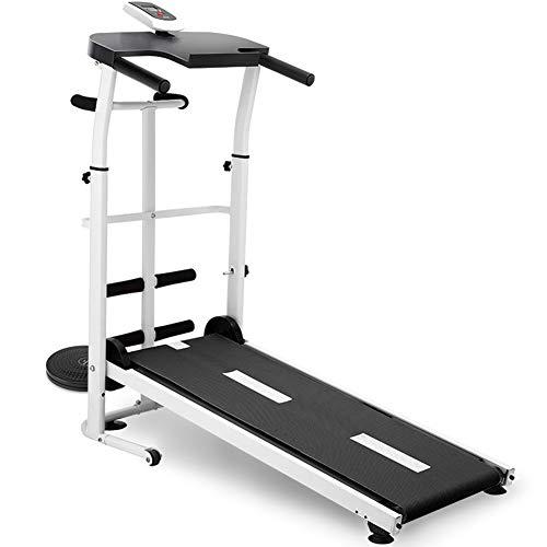 WBaRJ Faltbares Laufband, Mechanisches Laufband, Mini-Laufband für den Haushalt, Gehender Stiller Gewichtsverlust