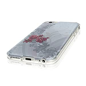 """Lyrics 10008, Retro Newspaper, Ultrathin Crystal Soft TPU Gel Silicone Case Cover Skin Shell Protector with Colourful Design for iPhone 6 4.7"""""""