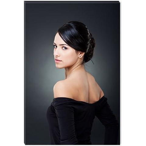 Startonight nachtleuchtendes tela elegante signora, 120 cm x 80