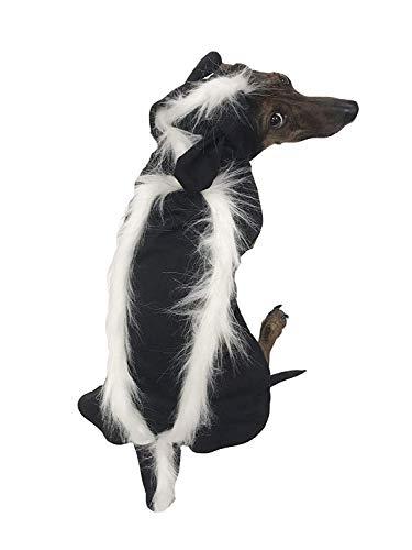 Midlee Hundekostüm Skunk, Small