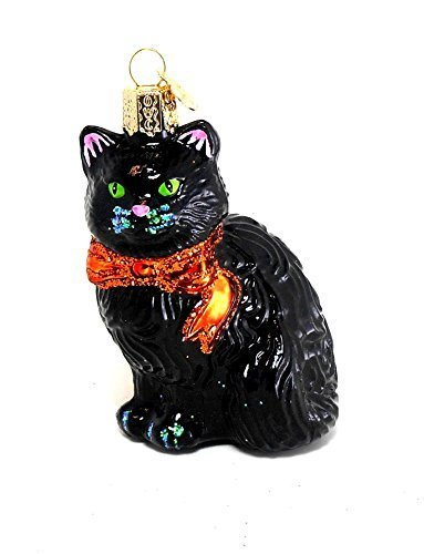 Halloween Kitty Ornament by Old World Christmas ()