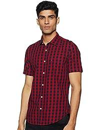 Indigo Nation Men's Striped Slim Fit Casual Shirt