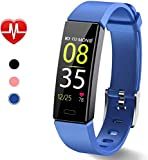 Dwfit Fitness Uhr mit Pulsmesser,Wasserdicht Fitness Armband Aktivitätstracker...
