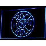 Cartel Luminoso ADV PRO i489-b Rock and Roll Musics Punk Bar Pub NEW Light Sign