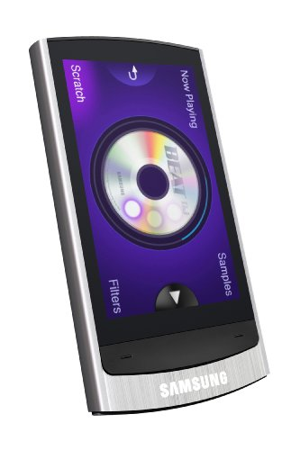 Samsung YP R 1 JE MP3-/Video-Player 16 GB (6,6 cm (2,6 Zoll) TFT LC-Display, FM-Tuner, Bluetooth, USB 2.0) Silber Samsung Video-mp3-player