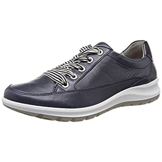 ARA Women's Tokio 1239801 Low-Top Sneakers, Blue 10, 7 UK