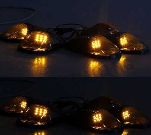 lot-de-5-led-set-de-lampes-de-toit-smoke-5-pieces-dodge-ram-1500-2500-ford-f150-f250-etc