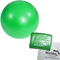 MSD Fitball, pelota grande de ejercicio (VERDE, 65cm)