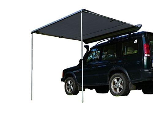 Prime Tech Fahrzeug-Markise 200x200x210cm grau auch für Dachzelte