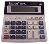 Large Desk Top Calculator for Student Office Desktop Solar Battery Full Size Keys