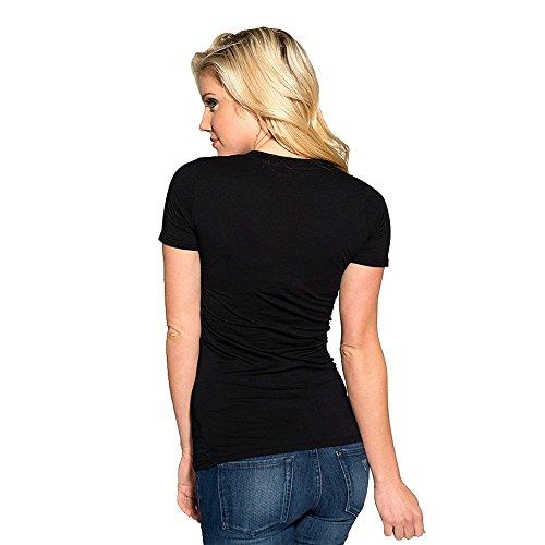 Sullen - Damen Ivano Payasa V-Neck Shirt Schwarz