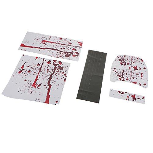 Preisvergleich Produktbild MagiDeal Vinyl Skin PVC Aufkleber Schutz Sticker für Xbox One S Konsole Controller 0192
