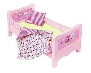 Zapf Baby Born Bed Cama/Cuna para muñecas - Accesorios para muñecas (Cama/Cuna para muñecas, 3 año(s), Rosa, 43 cm, Niño, Chica)