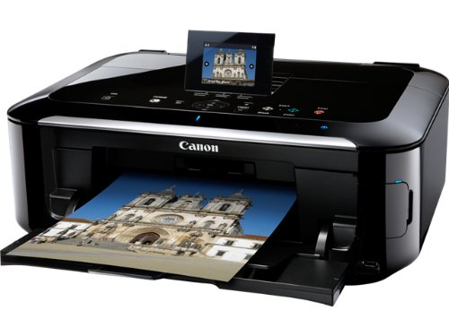 Preisvergleich Produktbild Canon Pixma MG5350 Multifunktionsgerät (Scanner, Kopierer, Drucker, USB 2.0) schwarz