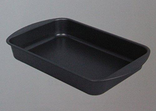 Teglia per lasagne lasagnera rettangolare alta 30 cm in alluminio antiaderente art lr30a gnali