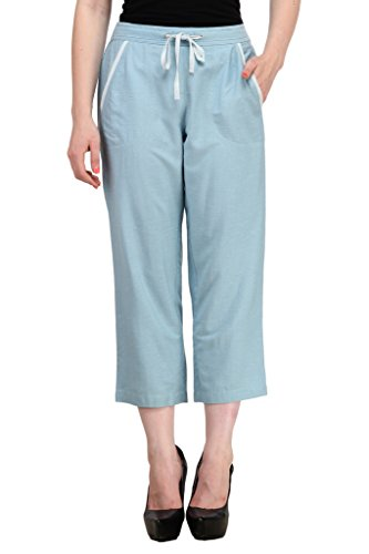Ladybug -  Pantaloni da notte  - relaxed - Basic - Donna Blue Large