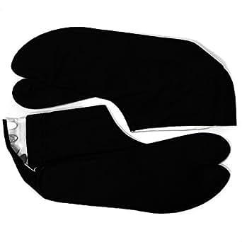 Sonix tabi paire de chaussettes noir 30 cm-ki-ta - 17