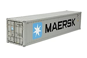 Tamiya Maersk 40-Foot Container - Scale Model Accessories (Gris)