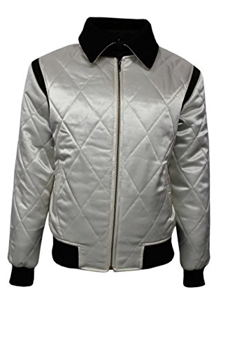Smart Range - Drive Or Scorpion Satin Fitted Film Movie Veste - Homme - Taille : Large - Couleur : Beige