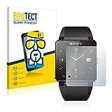 BROTECT Protector Pantalla Cristal Compatible con Sony Smartwatch 2 Protector Pantalla Vidrio Dureza...