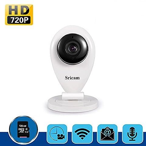 Ip überwachungskamera,LESHP Mini Camera Wireless Innen kamera IP Überwachungs Kamera Baby Haustiere Video Monitor WiFi Überwachungskamera Baby Wifi Monitor (HD 720p)