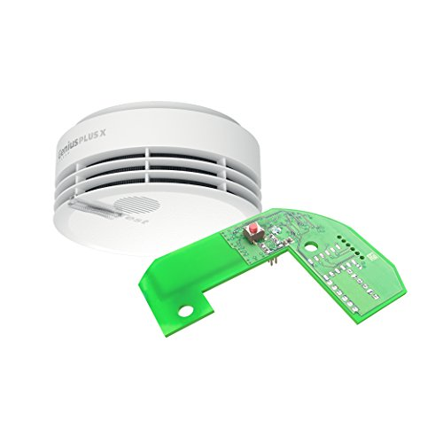 Hekatron Rauchmelder Genius PLUS X – Optional funk-vernetzbarer Rauchwarnmelder, inkl. Funkmodul...
