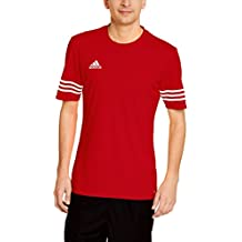 Adidas F50485 T-Shirt, Uomo, Rosso (Unired/Wht), Large