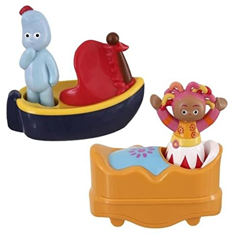 In the Night Garden Twin Pack Igglepiggle and Upsy Daisy