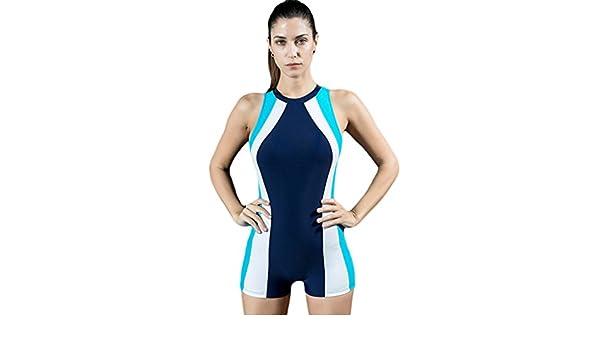 983adb34e309cd Cokar Sportbadeanzug Damen mit Bein Einteiler Sport Bademode Push Up  Schwimmanzug Badeanzug Training: Amazon.de: Sport & Freizeit
