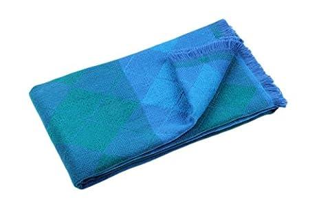 HSHIAWinter Long Soft Warm Tartan Check Scarves Wraps for women Wool Spinning Tassel Shawl Long Stole