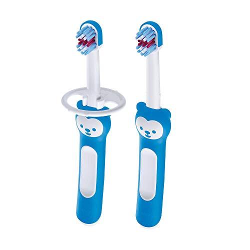 MAM 70515111 Babys Brush Doppelpack, blau