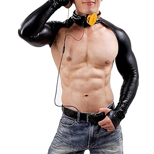 Price comparison product image Show Clothes, Wing-Shaped Breast-Bust Costumes, Adult Games, Halloween Adult Parties, Faux Leather, KTV, Prom,XXL