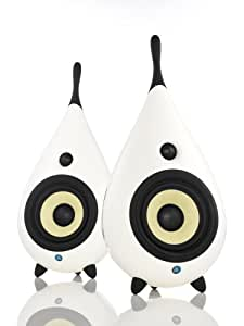 PodSpeakers The Drop - Designer Stereo Speakers (White)