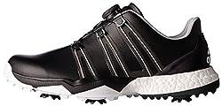 adidas Mens Pwrband Boa Boostwd Cblac Golf Shoe, Black, 10 4E US