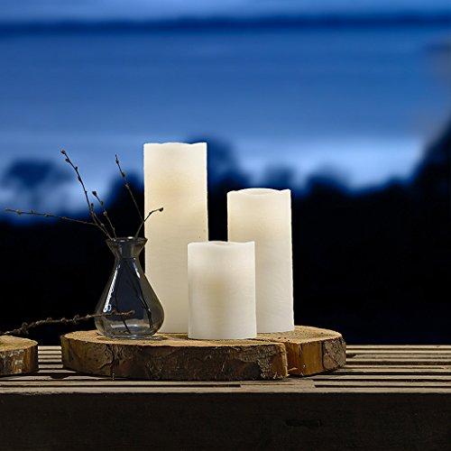 Pillar Candle, aspecto natural, de villa Collection