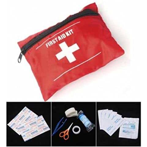 Tanzimarket - Kit de primeros auxilios de emergencia de alta calidad Bolsa Travel Pack Sport
