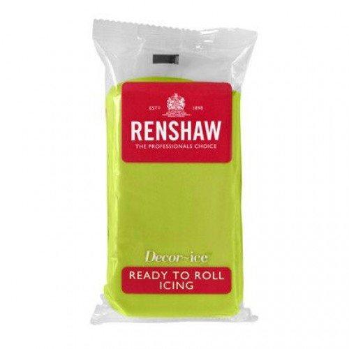 Pate a Sucre Citron Vert Renshaw 250 g