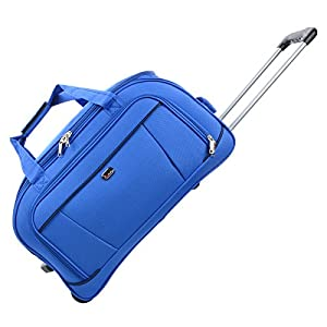 "JAM Traveller 26"" Blue Holdall Trolley Bag Case Wheeled Travel Luggage Suitcase by JAM"