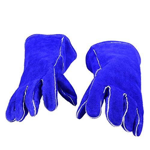 QI-shanping Lederarbeitshandschuhe Thorn Proof Gardening Handschuhe, Hochleistungshandschuhe für Garten, Angeln, BAU- und Restaurierungsarbeiten & mehr (Thorn Proof-garten-handschuhe)
