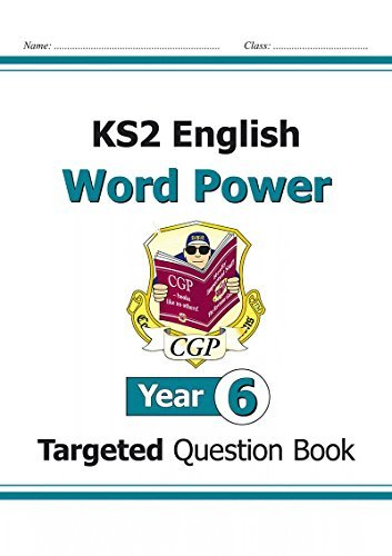 KS2 English Targeted Question Book: Word Power - Year 6 by CGP Books (2014-09-05) par CGP Books