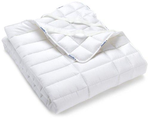 Badenia 03 780 280 143 Bettcomfort Auflage Irisette Vitamed, 140 x 200 cm, weiß