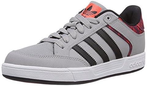 adidas Originals Varial Low, Herren Skateboardschuhe, Grau (Mgh Solid Grey/Core Black/Solar Red), 37-39 EU (4.5 Herren