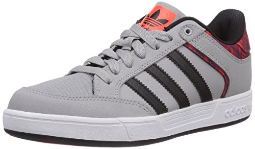 Adidas Originals - Varial Low, Scarpe Da Skateboard da uomo, grigio (mgh solid grey/core black/solar red), 38/39