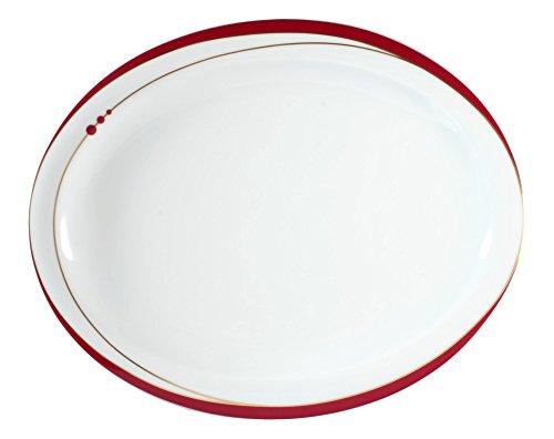Teller oval 29 cm 6 Stück Top Life Mirage 22539 von Seltmann Weiden