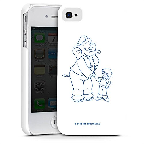 Apple iPhone X Silikon Hülle Case Schutzhülle Benjamin Blümchen Fanartikel Merchandise Der sprechende Elefan Premium Case glänzend