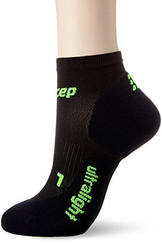 Low-cut-tennis-schuhe (CEP Damen Ultralight Low Cut Women Socken, Schwarz, III)