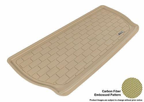 Custom Fit 3D MAXpider Cargo All-Weather-Tappetino per pavimento, per selezionare Buick Enclave/Chevrolet-Traverse Kagu modelli dal MAXpider 3D in gomma, colore: beige