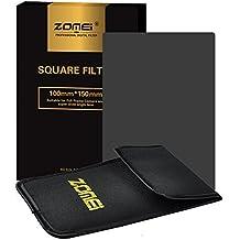 ZOMEi 100x150mm ND8 Z-PRO Serie Filtro Cuadrado Completa Filtro de Densidad Neutra Gray Compatibles con el Sostenedor de Cokin Z Lee Hitech '4X6'